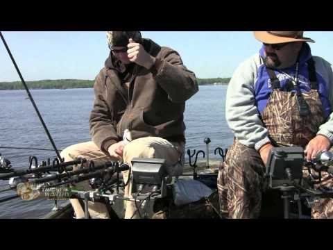 Crappie Spawn on Kentucky Lake 2013 filmed in HD for