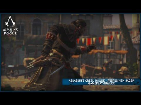 Assassin's Creed Rogue - Assassinen-Jäger Gameplay-Trailer [DE]