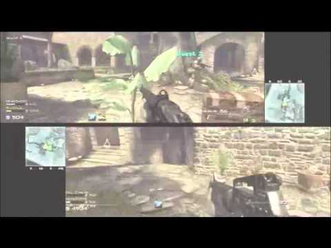 Call of Duty, MW3 Survival Mode, SPLIT SCREEN, Sanctuary, (Part 1)