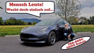 Tesla Model 3 - Eine wahre Geschichte: Hot oder Schrott?