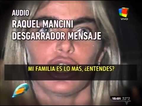 Raquel Mancini y la familia de Fabián Rodríguez continúan en pie de guerra