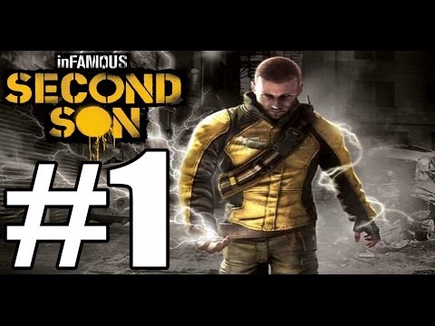 Infamous Second Son  Cole's Legacy Walkthrough Part 1
