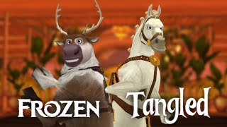 [MMD] Frozen & Tangled - Sven & Maximus Wave [Dancing Episode 5]