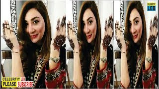 Latest Clicks of Ayesha Khan after Wedding on Eid By Celebrtiy Leb