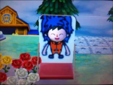 とびだせどうぶつの森 トリコ TORIKO 顔出し看板 QRコード マイデザイン