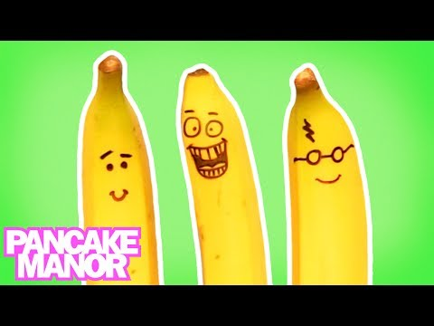 BANANAS FOR BANANAS (Song for Kids ♫) | Pancake Manor