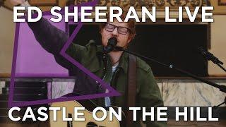 """Ed Sheeran - 英KISS FMが""""Castle On The Hill""""など2曲のライブ・セッション映像を公開 thm ?showinfo=0"""