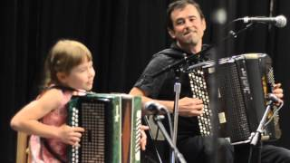 "Masha & Sergei Teleshev ""Good Mood"" ""Barinya"" Leavenworth Accordion Celebration"