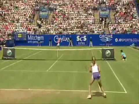 Justine Henin vs Amelie Mauresmo Highlights