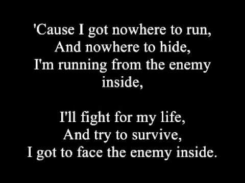 Papa Roach - The Enemy (Uncensored and Lyrics)