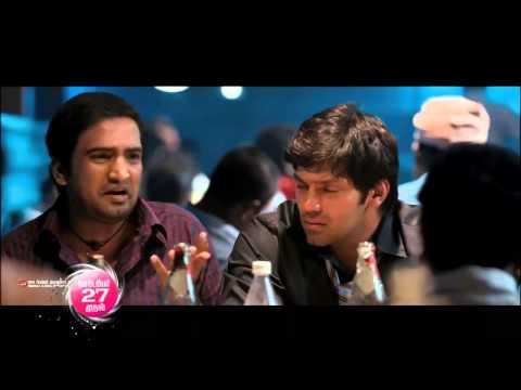 media santhanam dialogues in boss engira baskaran lyrics