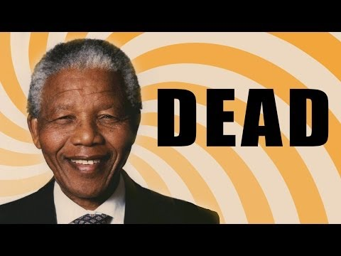 NELSON MANDELA DEAD - Inspiration From Invictus