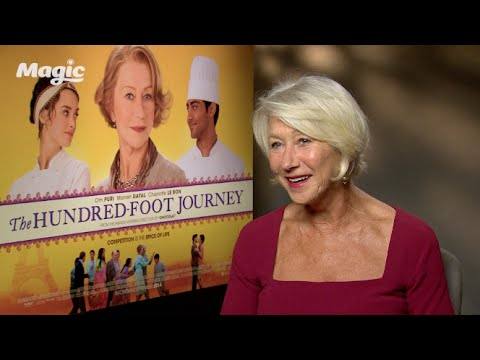 Helen Mirren on wanting to look French!