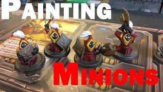 Mechs vs. Minions: Painting the Minions