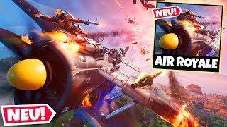 SO spielt man den neuen AIR ROYALE Modus in Fortnite!