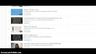 How to delete a video on your favorites on youtube