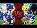SONIC FREE FOR ALL! (Dark Sonic vs Sonic.EXE, Sanic, Sonic, Metal Sonic, & More!) AnimationRewind