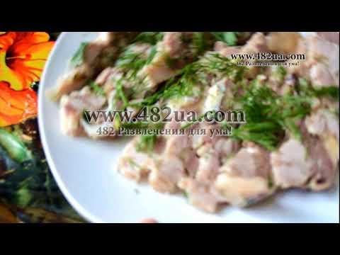 Праздничный галантин из петуха по французски кулинарный рецепт