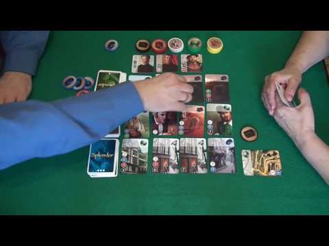 Splendor (Роскошь) - играем в настольную игру.