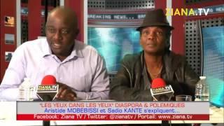 """""""LES YEUX DANS LES YEUX"""" Diaspora & Polémiques: Aristide Mobebissi et Sadio Kanté s'expliquent"""