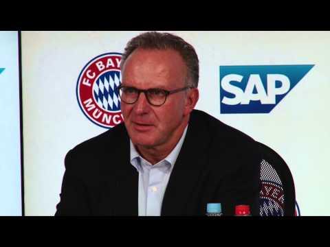 Freistoßspray in der Bundesliga! Karl-Heinz Rummenigge: