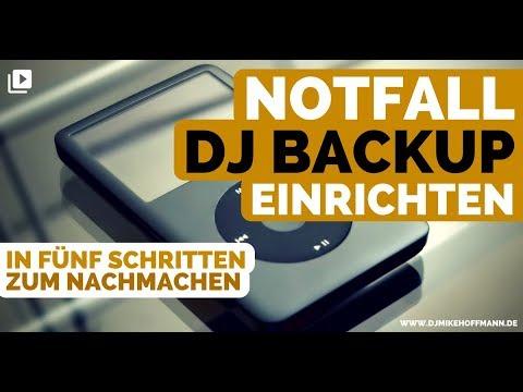NOTFALL DJ BACKUP EINRICHTEN | 5000 Abonnenten Special | DJ BackUp | DJ Hilfe
