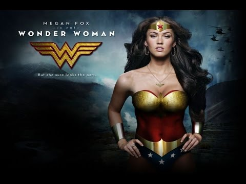 Megan Fox quiere ser Wonder Woman