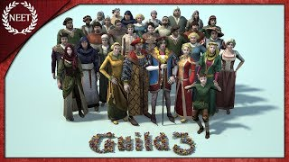 The Guild 3 - 中世の人生シミュレーションゲーム #1 【実況】
