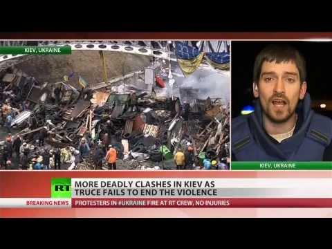 Deadliest day in Ukraine protests yet, despite truce