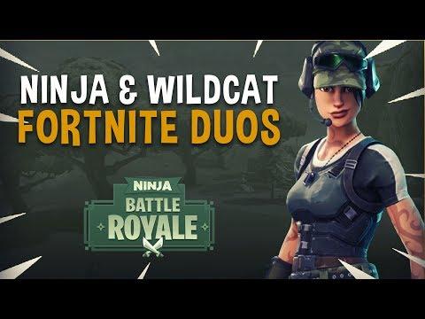 Ninja & WildCat Insane Duos! - Fortnite Battle Royale Gameplay