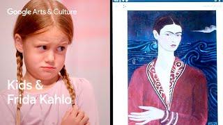 Kids Explain Art to Experts: Alexa (5) vs Frida Kahlo | #NameThatArt