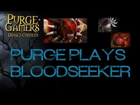 Dota 2 Purge plays Bloodseeker
