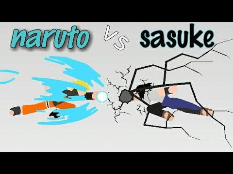 Stick nodes-Naruto vs Sasuke