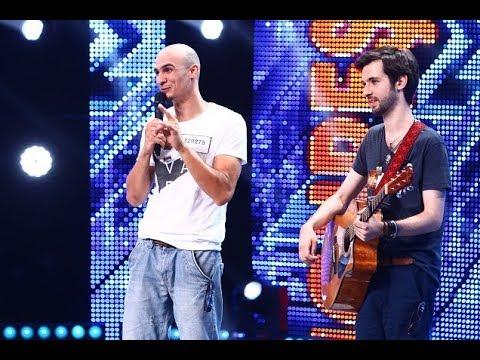 """Bogdan Zloteanu, melodie de """"pace"""", în limba engleză, pe scena """"X Factor""""!"""