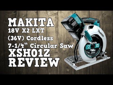 Makita 18V X2 XSH01Z 36V Circular Saw Review