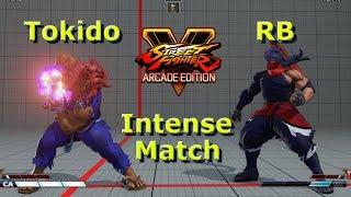 SFV AE - Tokido VS RB | First To 2