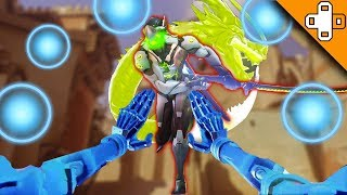 I SHOULDNT BE ALIVE! Overwatch Funny & Epic Moments 386