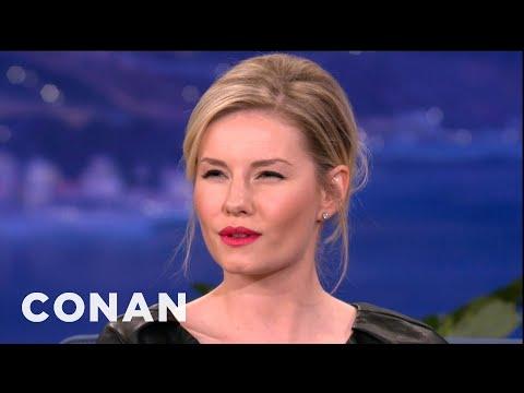 Elisha Cuthbert Impersonates Rene Zellweger & Ellen DeGeneres - CONAN on TBS