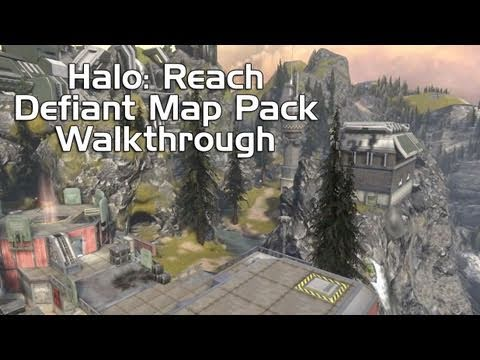 Halo: Reach – Defiant Map Pack Walkthrough