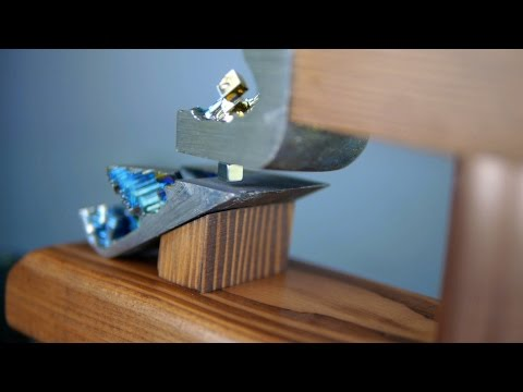 Make a Diamagnetic Levitator With Bismuth - No Energy Cost, Indefinite Levitation