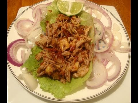Receta de pierna al horno comida mexicana