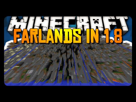 Minecraft: THE FAR LANDS ARE BACK IN 1.8!