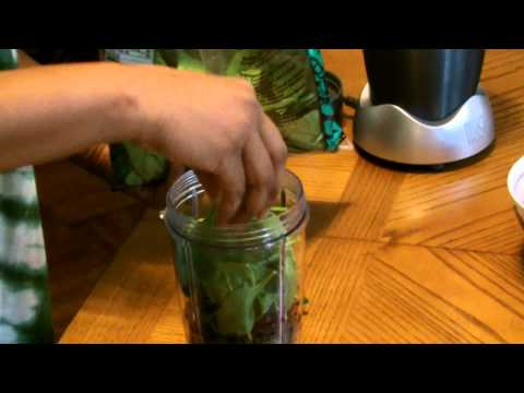 Nutribullet healthy organic green smoothie drink