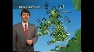 BBC Weather 29th December 1994: John Kettley
