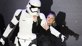 Hollywood trauert um Carrie Fisher