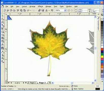 Creating scrollsaw patterns with Corel Draw