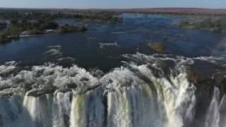 Drone Over Victoria Falls