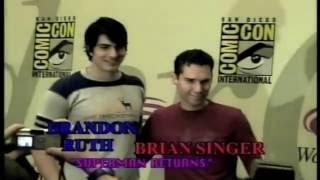 "Bryan Singer & Brandon Routh of ""Superman Returns"" at Wondercon '06"