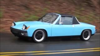 Porsche 914 Review - In the Pouring Rain