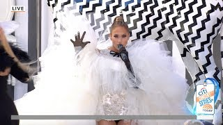 "Jennifer Lopez ""Medicine"" Live Performance on the Today Show plaza"